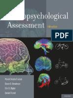 Lezak. Neuropsychological Assessment [5th Edition]