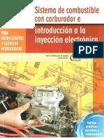 Sistema de Combustible Con Carburador e Introducción a La Inyección Electrónica