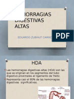 Hemorragias digestivas altas