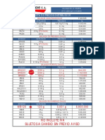 Listado de Equipos Disponible Al 11112016