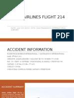 AirCrash Asiana Airlines