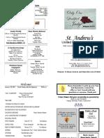 St Andrews Bulletin 0129