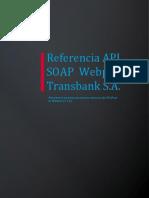 04 Referencia API SOAP Webpay - Transacción PatPass by Webpay