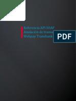05 Referencia API SOAP Webpay - Anulacion