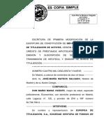Escritura de titulización RMBS 11 FTA