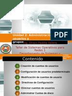 Administracion de Cuentas de Usuario y Grupos Linux