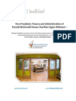 Ronald McDonald House Charities - Upper Midwest - VP, Finance and Administration