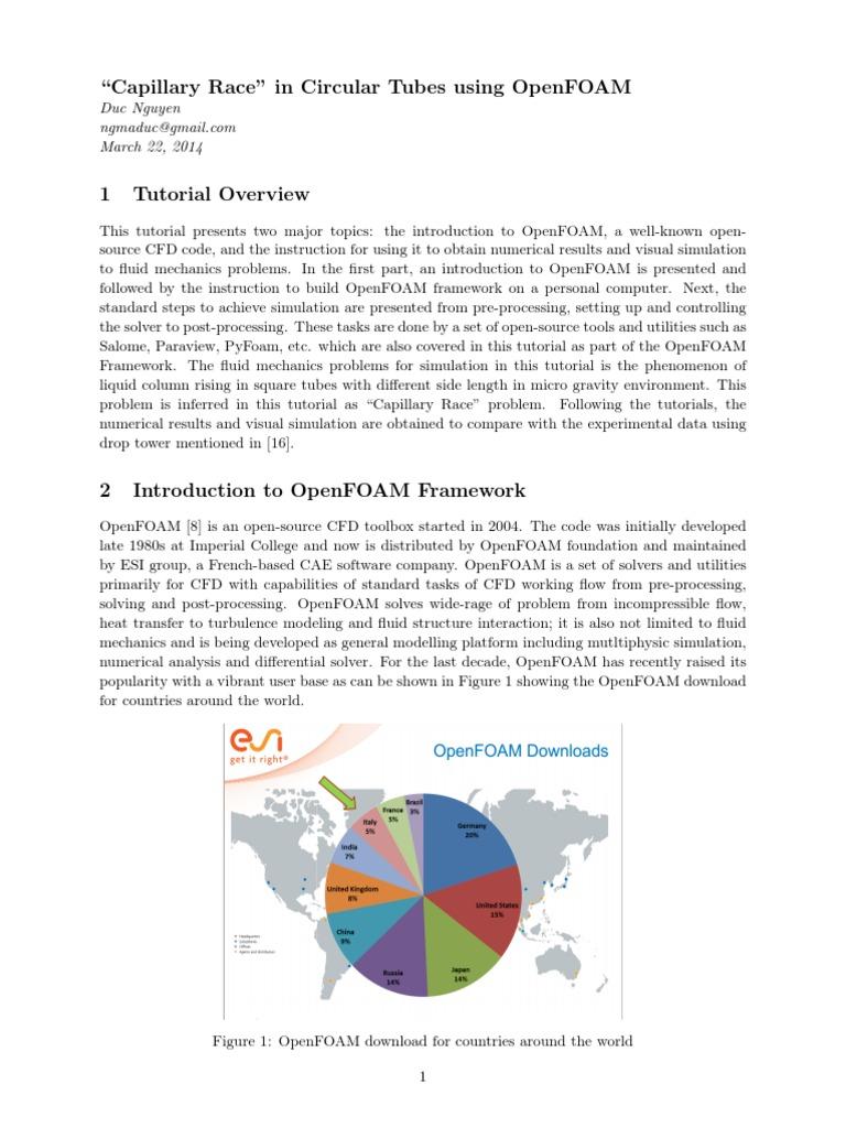 OpenFOAM Tutorial | Installation (Computer Programs) | Computational