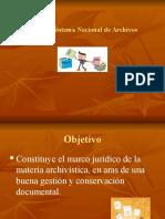 Ley 7202 Del Sistema Nacional de Archivos
