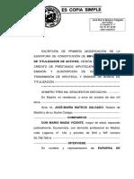Escritura de titulización RMBS 9 FTA