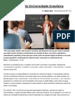 A Morte Da Universidade Brasileira