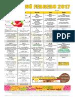 Febrero 2017 General Publico Cocinado
