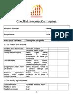 Checklist Bulldozer