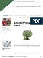 Evaluación Financiera Empresarial_ ROE ROA (Análisis Dupont)Formacion Gerencial Blog