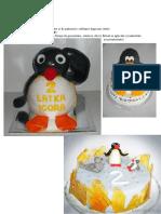 Tort Pinguin