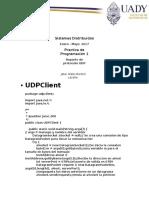 Reporte de Practica UDP