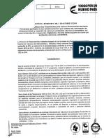 2016041871 de 2016 Lineamientos Para La Obtencion de La Autorización Sanitaria Provisional