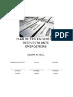1. Plan de Contingencia