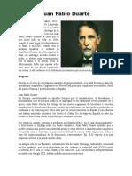 Biografías de los Padres de La Patria Republica Dominicana