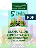 Cartilha 5ª Conf Mun Cidades