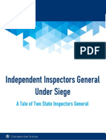 Independent Inspectors General Under Siege - CAPI Community Contribution - January 2017