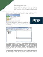El Editor de Visual Basic Para Excel NINFA-ROJAS