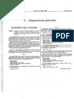 Orden de 24 de Noviembre de 1988 Modifican Orden de 8 de Febrero de 1988 Por La Que Se Establecen Los Distintivos, Carné Profesional, Placa-emblema y Divisas Del Cuerpo Nacional de Policía