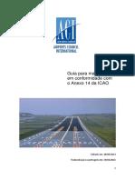 Guia Para Manter Pistas Em Conformidade Com o Anexo 14 Da ICAO