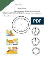 Citeste Ceasul Prof Cristina Ungureanu