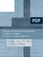 Pavlakos, G. and de Feyer, K., The Tension Between Group Rights and Human Rights