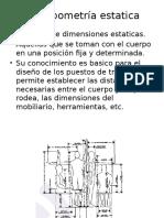 Antropometría estatica