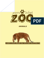 Feeding Zoo Animals