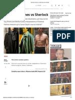 Sherlock Holmes vs Sherlock _ Den of Geek