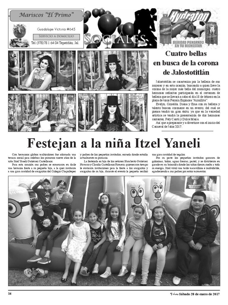 Festejan A La Niña Itzel Yaneli Cuatro Bellas En Busca De