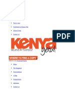 About Kenya Yetu.docx