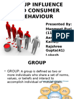 Group Influence and CB (1)