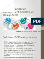 Office Organization, Management And Role of Design.pptx