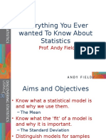 Dsur i Chapter 02 Everything You Ever Wanted to Know About Statistics