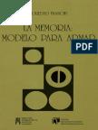 La Memoria Modelo Para Armar Soledad Bianchi