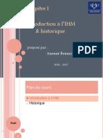 Chapitre 1 - Introduction à l'IHM & Historique