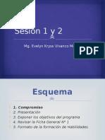 Sesión 1 y 2