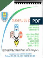 Manual, Licencia de Conducir