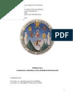 80516060 Trabajo No 2 Planeacion y Desarrollo Del Informe de Investigacion