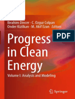 Progress in Clean Energy