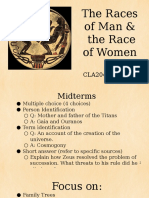 The Races of Man and the Race of Women (1)