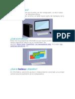 Hardware, Software y Dispositivos