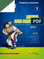 ANUAL SAN MARCOS 1 - 2016