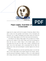 Papa Legba, Guardian of the Crossroads