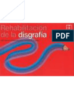 Rehabilitación de La Disgrafia 1