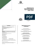 Reglamento de Procesos Administrativos SISTEMAS SIAF-SALMI RM 129
